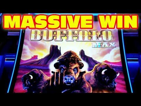 MASSIVE WIN ★ THE AMAZING NEW BUFFALO MAX ★ HUGE WIN