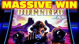 MASSIVE WIN ★ THE AMAZING NEW BUFFALO MAX ★ HUGE WIN