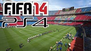 FIFA 14 - Playstation 4 Gameplay - FC Barcelona vs. Real Madrid [PS4] [FULL-HD]