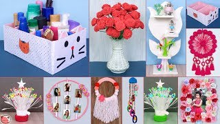 10 Easy... Best Out of Waste Idea || DIY Room Decor || DIY Projects !!!