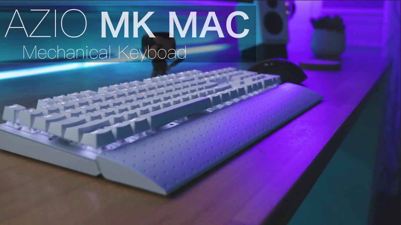 MK-MAC-U01 Brown K-Switch Azio Mk Mac Wired USB Backlit Mechanical Keyboard for Mac
