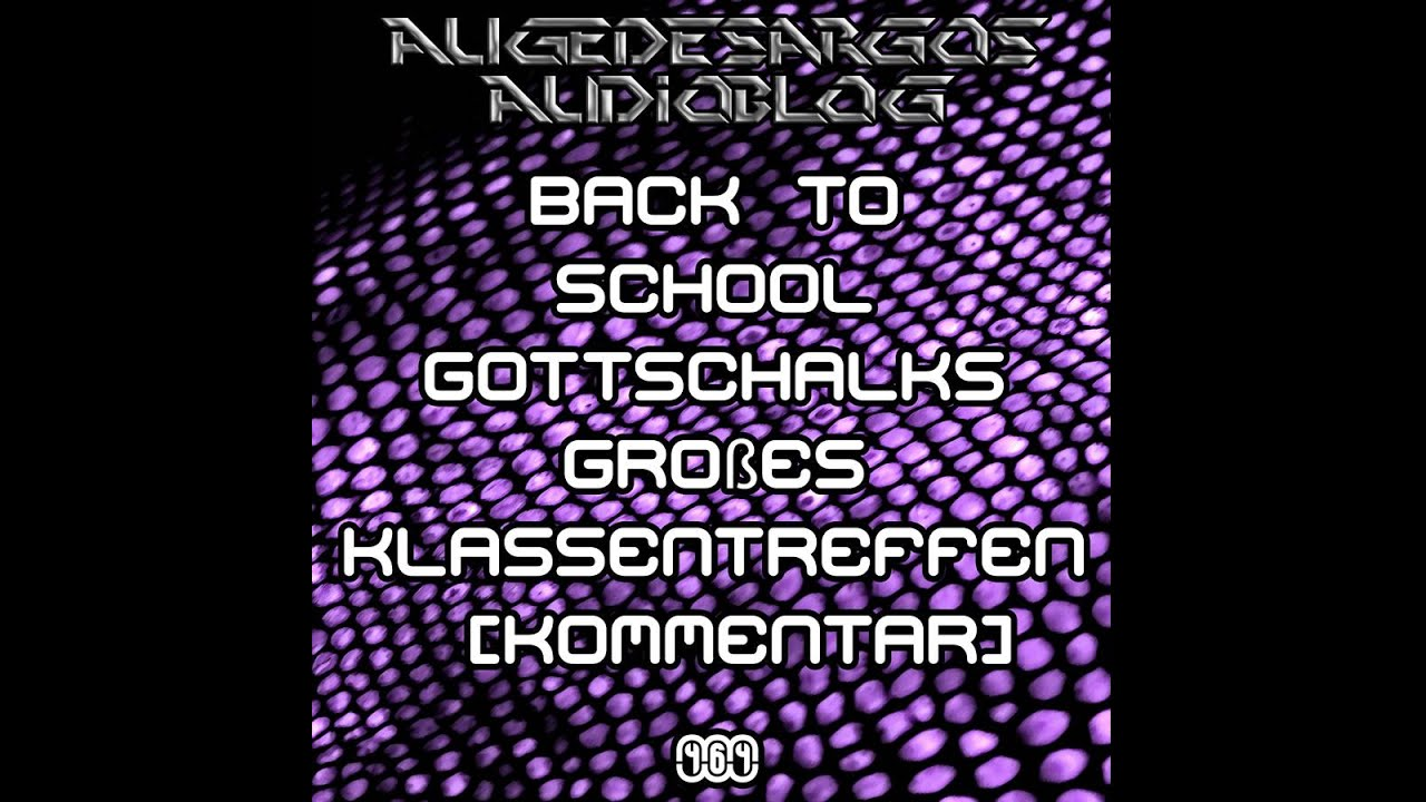 Back To School Gottschalks Großes Klassentreffen Kommentar Youtube