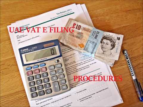 Procedure for Filing VAT Returns in UAE