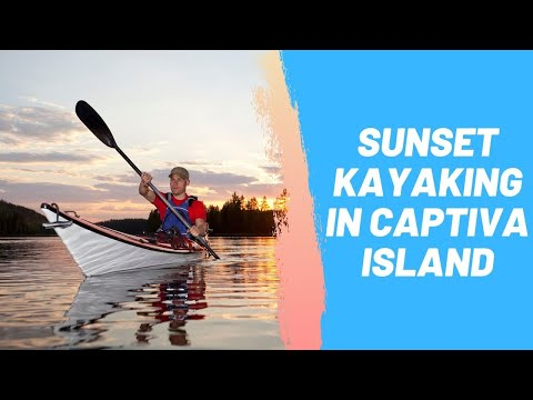 Sunset Kayaking in Captiva Island