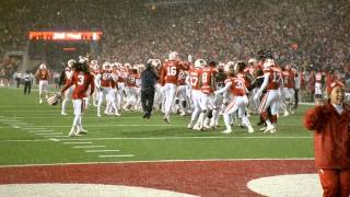 """Jump Around"" at Camp Randall Nov. 15, 2014, Wisconsin Badgers vs. Nebraska Cornhuskers"