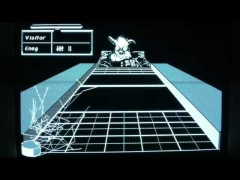 Classic Macintosh Game - Shufflepuck Café (1988)