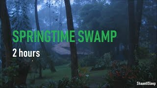 Download Night Rain In Springtime - 2 Hours of Crickets, frogs, rain, owls, chimes and Rain Sleep Sounds Mp3 and Videos