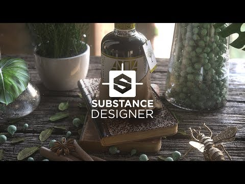 Substance Designer - The Ultimate 3D Material Authoring Tool