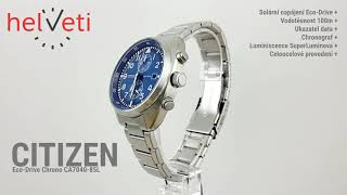 Citizen Eco-Drive Chrono CA704…