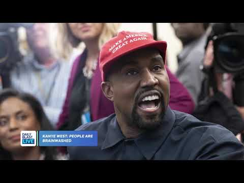 Kanye West Says People Are Brainwashed by Democrats