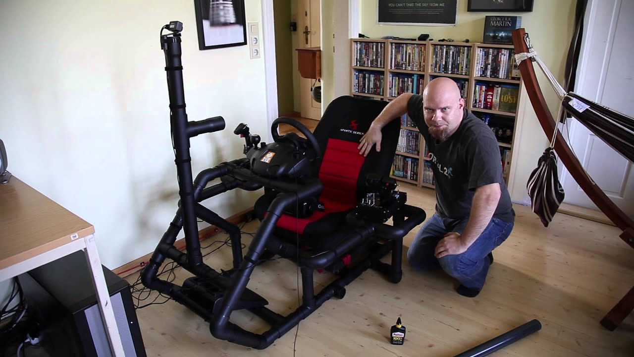 Racing Seat Office Chair Diy Oversized Sleeper The Time Machine A Homemade Gaming Youtube