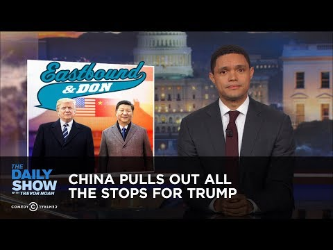 Thumbnail: China Pulls Out All the Stops for Trump: The Daily Show