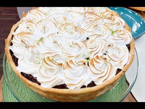 Aprenda a fazer torta de limão com chocolate