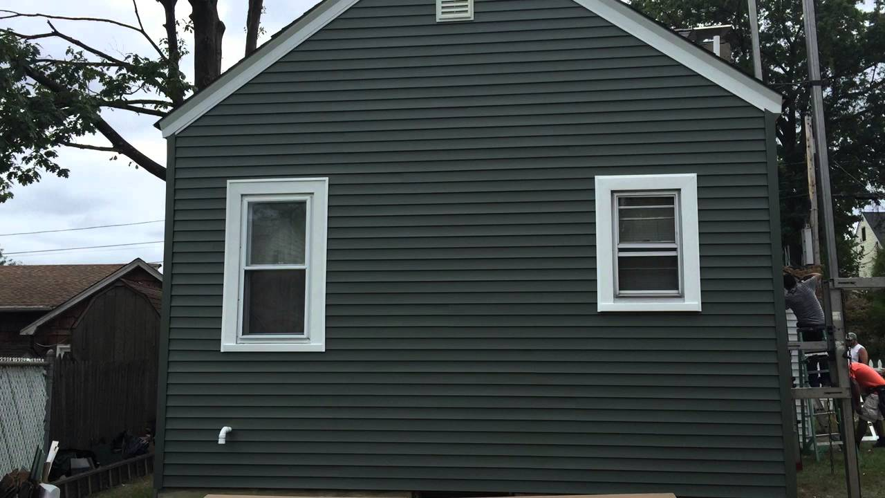 Seamless Vinyl Siding Installation Passaic County Contractor Certainteed Mainstreet Prodigy