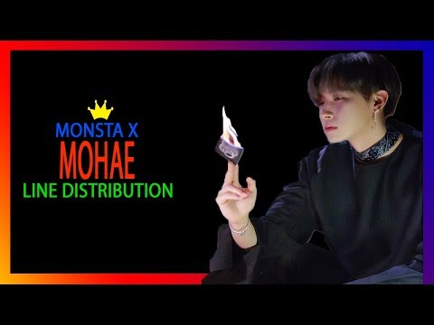Monsta X - MOHAE Line Distribution