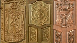 Latest wooden main door designs for modern homes