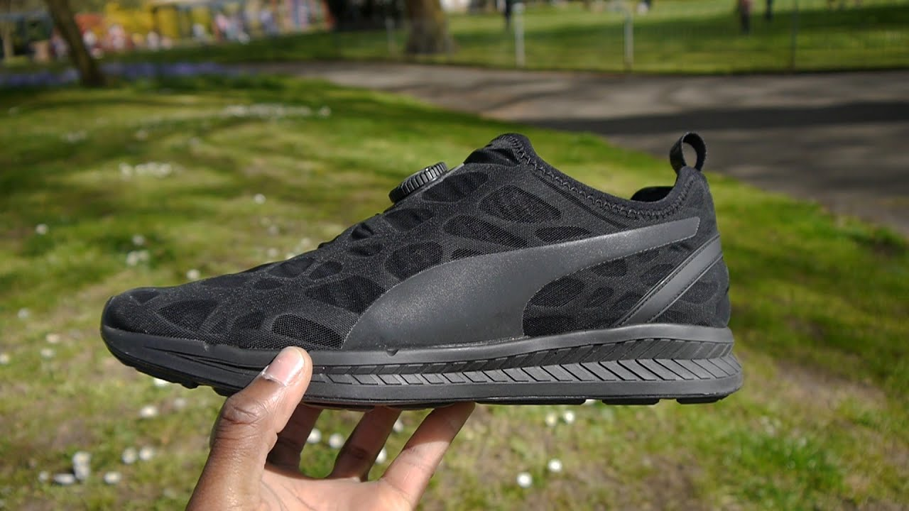 puma ignite disc noir