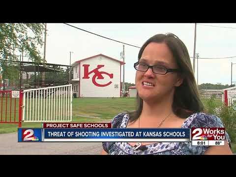Kansas, OK police investigate school threat