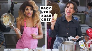 Download Shangela Tries to Keep Up with a Professional Chef | Back-to-Back Chef | Bon Appétit Mp3 and Videos