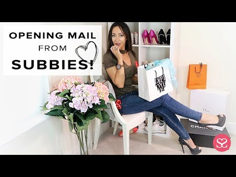 READING THE MAIL! 😁 💕 Subscriber Mailtime Haul | Sophie Shohet