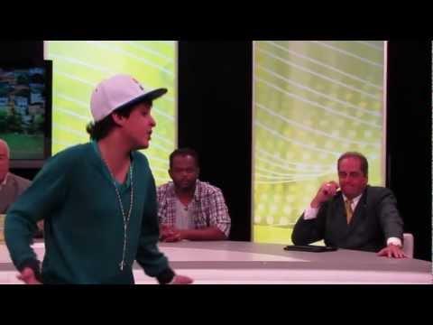 Yuri BH Na TV Alterosa - Bastidores