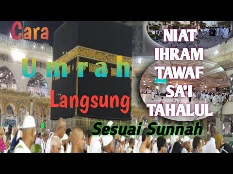 Tata Cara Haji dan Doa Haji dari Awal Sampai Akhir.