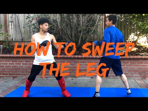 HOW TO SWEEP THE LEG | Kumite Technique | by Jason Leung