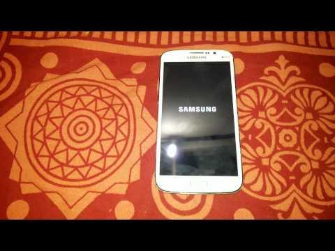 Samsung Galaxy Mega I9152 hard reset