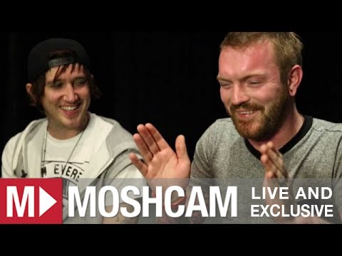 Alesana talk playing live, lisps and fans licking their sweat | Moshcam