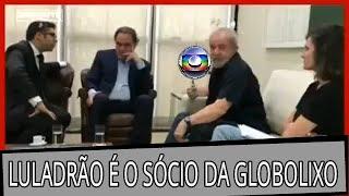 🔴 URGENTE LULADRÃO É SÓCIO DA REDE GLOBOLIXO DE TELEVISÃO