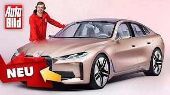 BMW Concept i4 (2020): Neuvorstellung - Studie - Genf 2020 - Elektro - Infos - deutsch