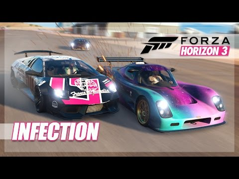 Forza Horizon 3 - Best Infection Ever? Flying Cars, Chaos, and More! thumbnail