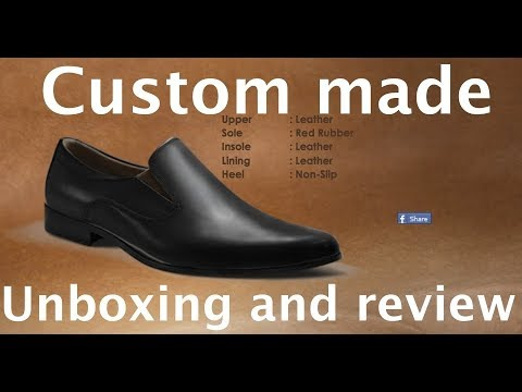 Itailor com custom made shoes  Review and unboxing  First check