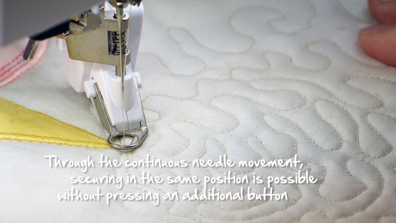 Free motion quilting tutorial series video #4: practice designs.
