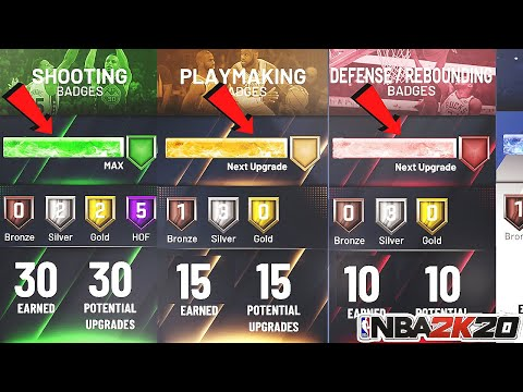 *NEW* NBA 2K20 BADGE GLITCH!AFTER PATCH 1.03!UNLIMITED BADGE POINTS FAST AND EASY!