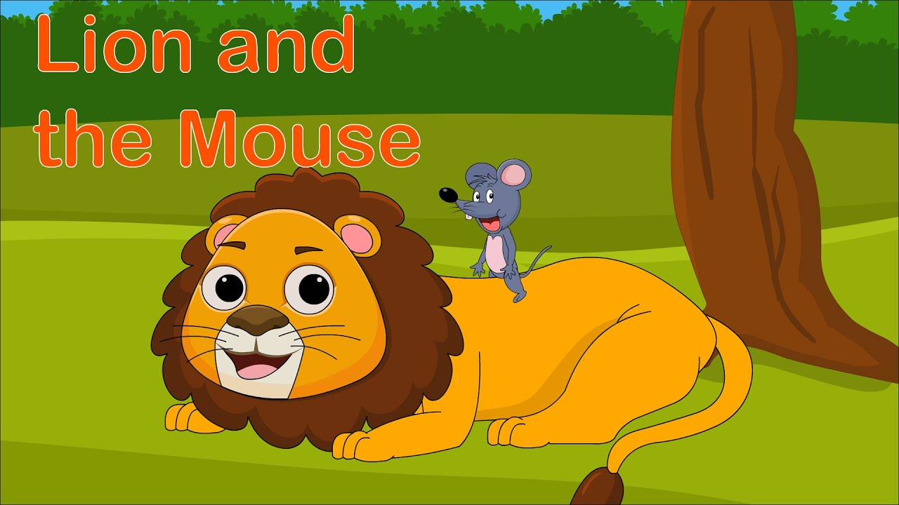 The Lion and The Mouse Song   Aesop's Fables   Cartoon Songs for Kids   Supper Toddlers