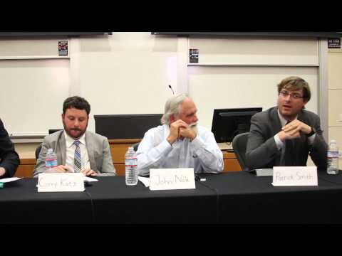 Justice and Climate Change Panel on April 16, 2015