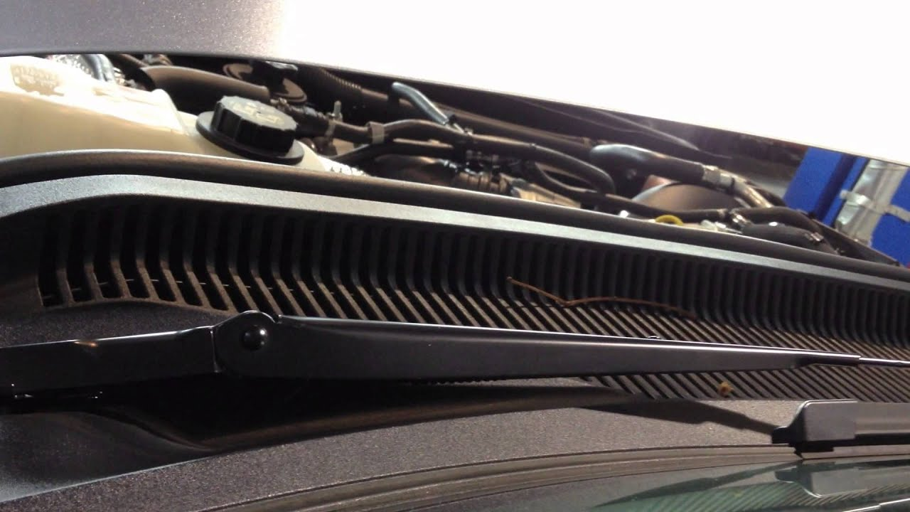 Ford superduty 6 7 powerstroke diesel k n cold air intake review youtube