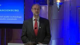 Karlheinz Brandenburg - 2014 Internet Hall of Fame Acceptance Speech