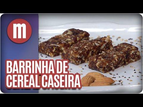 Mulheres - Barrinha De Cereal Caseira (05/04/16)