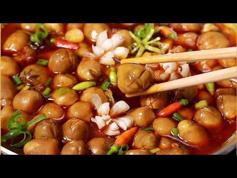 Cách Nấu Món Nấm Rơm Kho Chay dễ làm người lớn trẻ nhỏ đều thích ăn