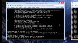 Blocking ICMP Packets Using iptables