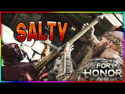 For Honor - Learning New Highlander Moves! - PK Gets SALTY!