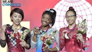 2018 Artistic Worlds, Doha (QAT) -  HIGHLIGHTS - Women's All-around Final - We Are Gymnastics !