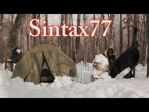 Winter Camping with a Sled