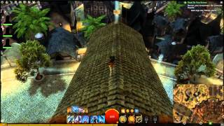 Guild Wars 2 - Ossan Quarter Vista Point (Divinity