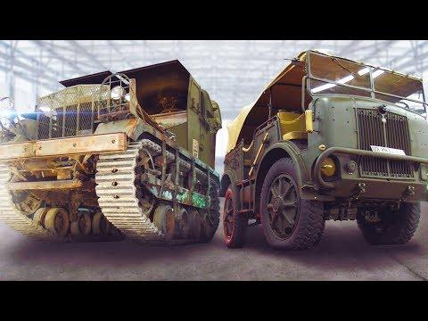 Уникальные авто монстры Второй мировой