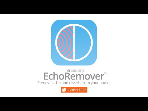 Echo Remover for Final Cut Pro and Premiere Pro