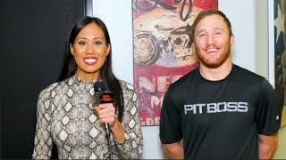 Justin Gaethje Thoughts on Conor McGregor vs Dustin Poirier; MMA GOAT