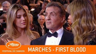 FIRST BLOOD - Les marches - Cannes 2019 - VF